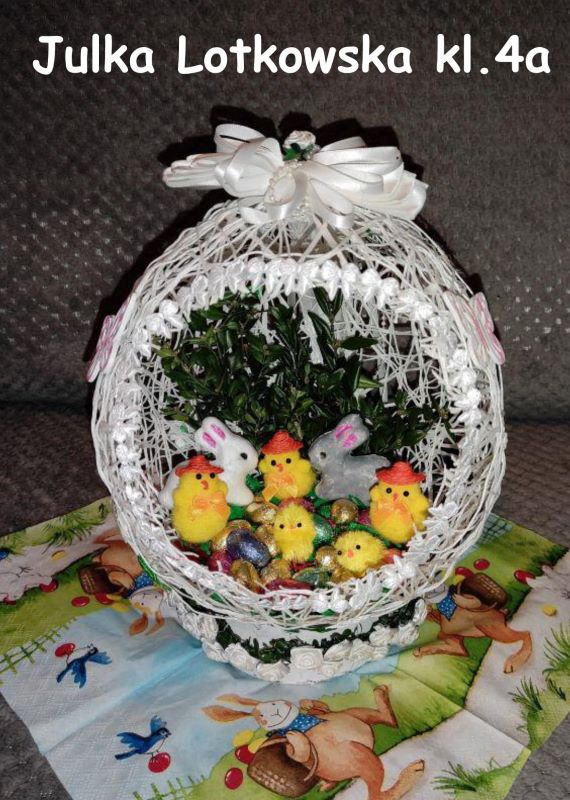 Wielkanocne stroiki i palmy - zdjęcie 22